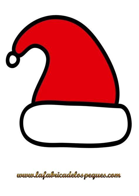 imagenes de gorros de santa claus imprimibles y plantillas de navidad gratis gorros