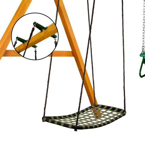 swing set accessories home depot gorilla playsets chill n swing with brackets 04 0031 bk g