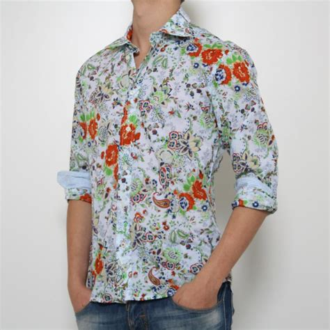 camicie fiori uomo camicie a fiori tutte le offerte cascare a fagiolo