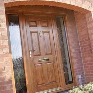 brown doors upvc upvc entrance doors albany windows glazing