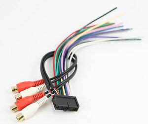 Xtenzi Radio Wire Harness For Jensen 20pin Cd6112 Cd3610