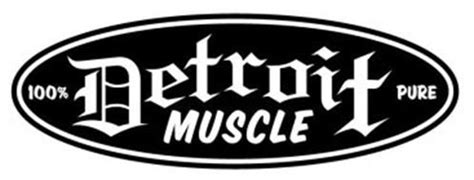 detroit muscle  pure trademark  east side speed shop