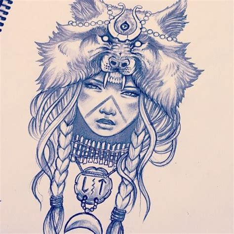 wolf tattoo for girl 17 best ideas about indian tattoos on