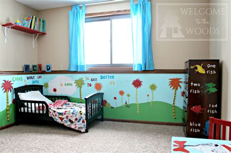 dr seuss themed bedroom dr seuss kids room welcome to the woods