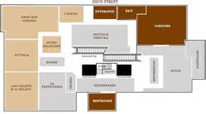 Eataly Floor Plan by Here S A Map Of Eataly Chicago Chicago Magazine Dining