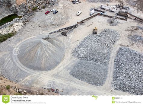 gravel pit royalty free stock images image 32667119