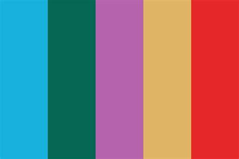 tie dye colors tie dye 1 color palette