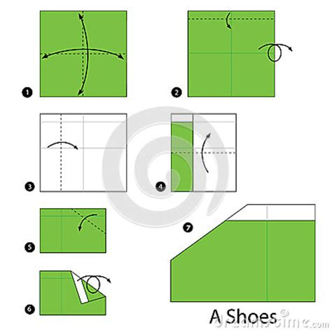 How To Make A Paper Shoe Step By Step - step by step how to make origami a shoes
