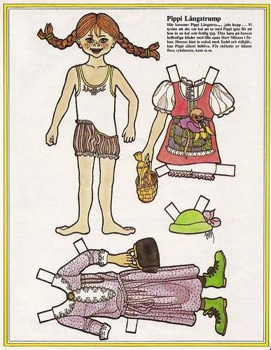 Pippi Longstocking Dress Template For Card by 17 Best Images About Pippi On