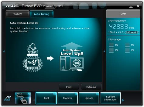 Ai Suite 3 Auto Tuning by Board Features In The Box And Software Asus P8p67 Review