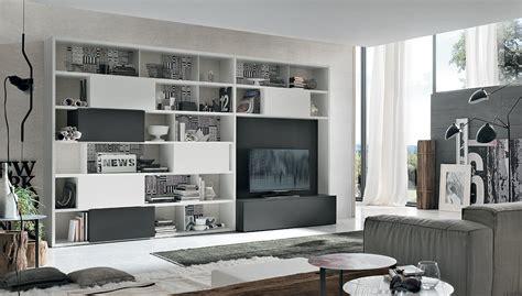 librerie per soggiorni soggiorno tomasella trezzi interni