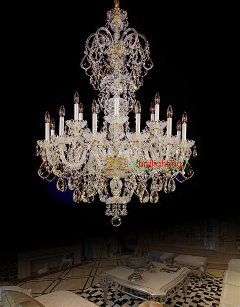 Entry Chandelier Grand Deco Inspired Entrance With Custom Made Chandelier White Glossy Ceramic Area