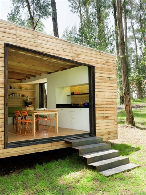 modern tiny homes 538 sq ft modern tiny cabin