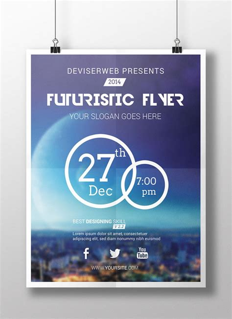 poster template photoshop 25 free photoshop flyer templates