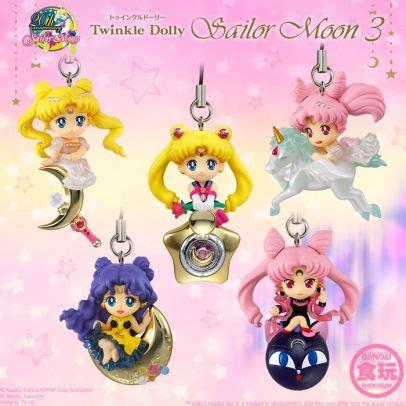 Sailormoon Twinkle Dolly Vol 03 Small Twinkle Dolly Sailor Moon Vol 3 Box 10 Bandai Shokugan