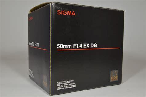 Sigma 50mm F1 4 Dg Hsm A For Nikon sigma 50mm f1 4 ex dg hsm for nikon a0196 superb japan