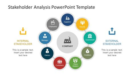 Stakeholder Map Template Powerpoint Images Templates Analysis Ppt Templates
