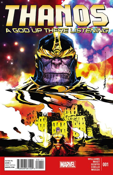 thanos vol 2 the god quarry thanos a god up there listening vol 1 1 marvel database