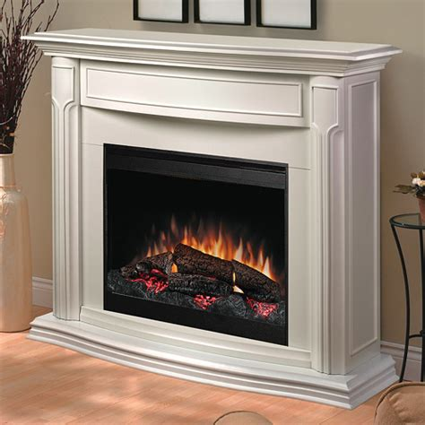 large white electric fireplace white electric fireplace mantel package dfp69139w