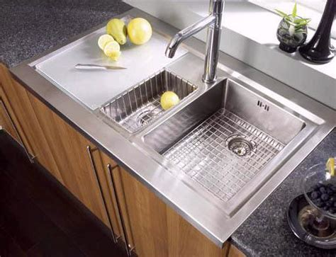 sit on kitchen sink bistro 1 5 bowl sit on work centre with left hand drainer