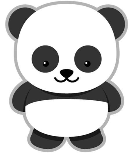 panda template panda clipart pinteres