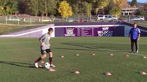 football basic skill tutorial basic youth soccer drills dribbling 5 youtube