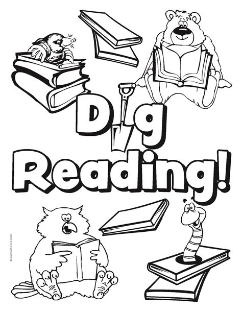coloring pages library national library week coloring pages coloring home