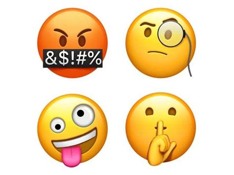 apple reveals new emojis for iphone and with ios 11 1 news gadgets now