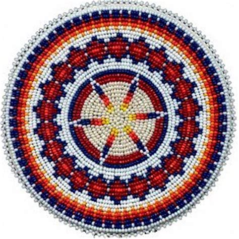 BEADED ROSETTE PATTERNS   Free Patterns