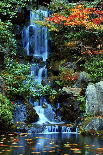 heavenly falls   fall   japanese gardens
