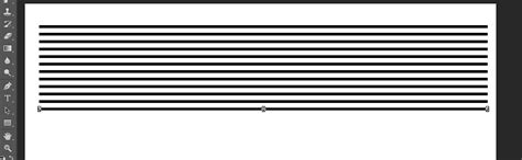 photoshop horizontal layout creating series of horizontal lines in photoshop graphic