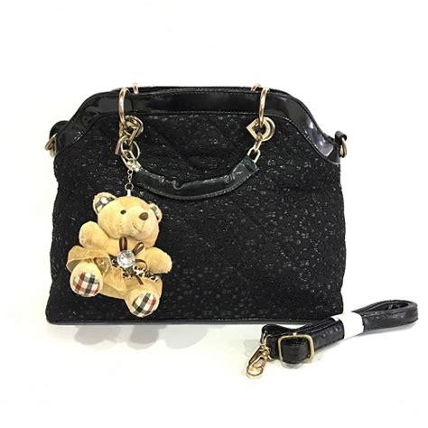 Tas Selempang Fashion Wanita Minmin 3in1 Tanpa Boneka Lucu jual b10640 black tas selempang bonus boneka grosirimpor
