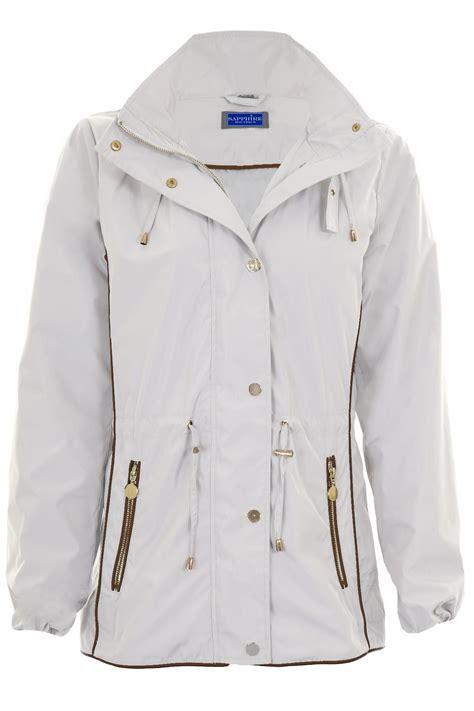 light waterproof jacket ladies womens long sleeve lightweight smart hooded jacket rain