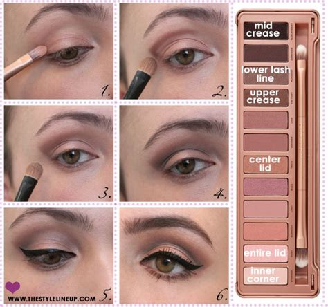 eyeshadow tutorial urban decay 3 urban decay naked 3 tutorial