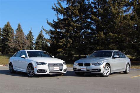 audi a6 vs a4 2017 audi a4 vs bmw 3 series comparison review autoguide