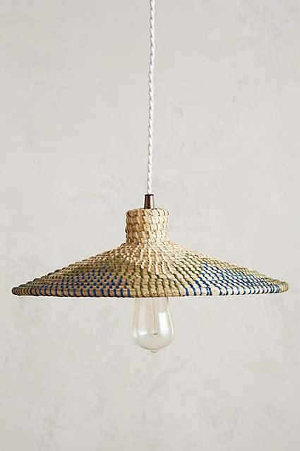 Woven Pendant Light Kirkland Woven Rattan Dome Pendant Light