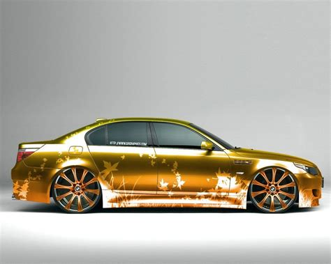 golden cars wallpaper avto bmw gold car hd wallpaper
