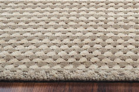 pattern grey rug platoon dotted pattern wool area rug in grey khaki 3 x 5