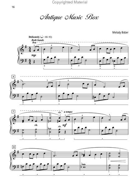 Grand Solos for Piano, Book 4 Sheet Music by Melody Bober
