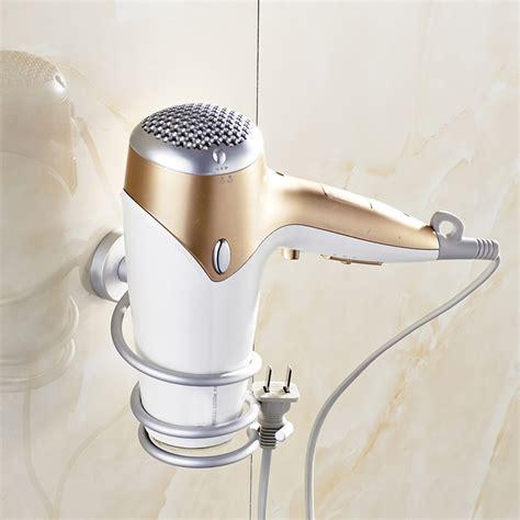 Hair Dryer On Banana wall hair dryer bathroom holder bellechic