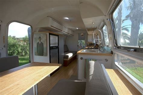 Remodeled Airstream Interiors by Airsteam Remodels On Airstream Airstream
