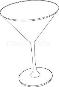 martini glass vector art free