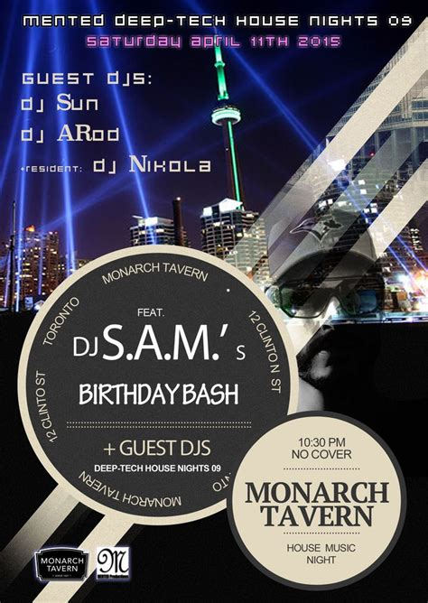 house music toronto 59 best images about graphic design portfolio on pinterest toronto canada company