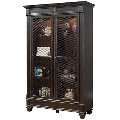 Hunting Home Decor Hartford Wire Mesh Door Bookcase Home Organization