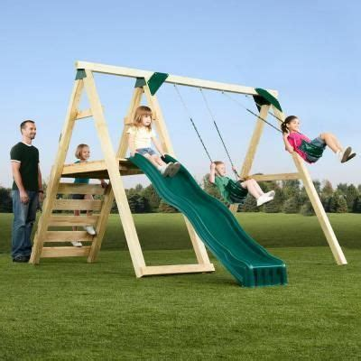 how to put together a swing set 17 best ideas about playset slides on pinterest