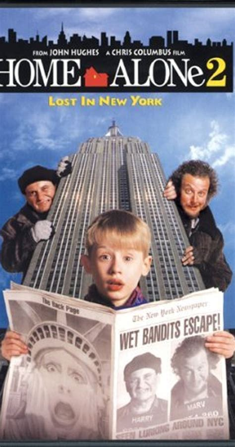Home Alone 2 Lost In New York Cast by Home Alone 2 Lost In New York 1992 Imdb