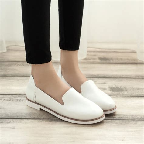 comfortable work flats 2016 hot sale spring women street fashion flat shoes woman