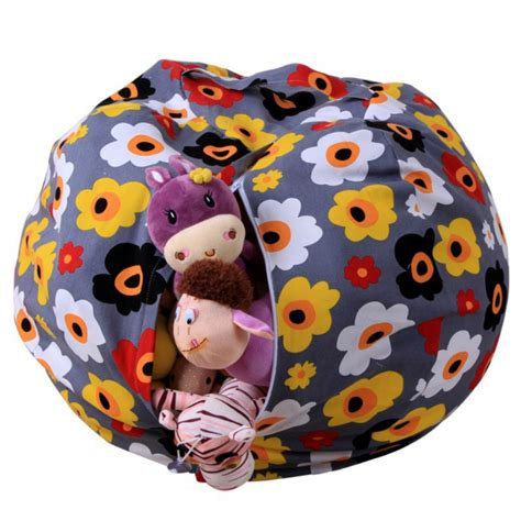 stuffed animal bean bag storage pattern bean bag chairs stuffed animals best bag 2017