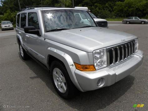 jeep commander silver 2006 bright silver metallic jeep commander limited