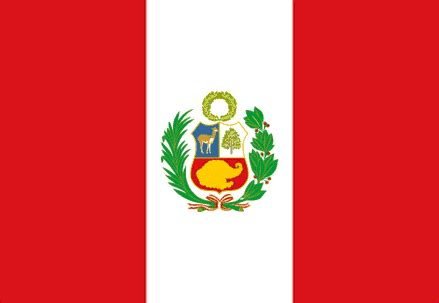 colors of the flag peru flag and description